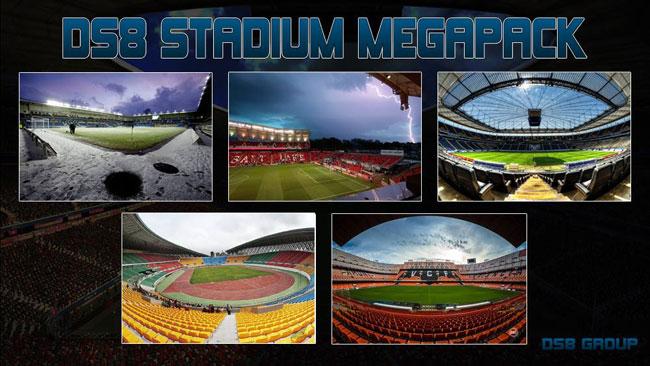 Megapack de fondos de Estadios