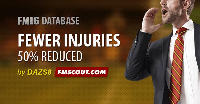 Fewer Injuries
