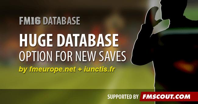Opción para seleccionar una Base de Datos de jugadores más grande