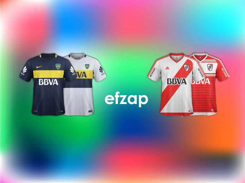 Kits Boca Juniors - River Plate SS 2016/17