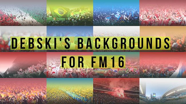 Imágenes de fondo para FM2016