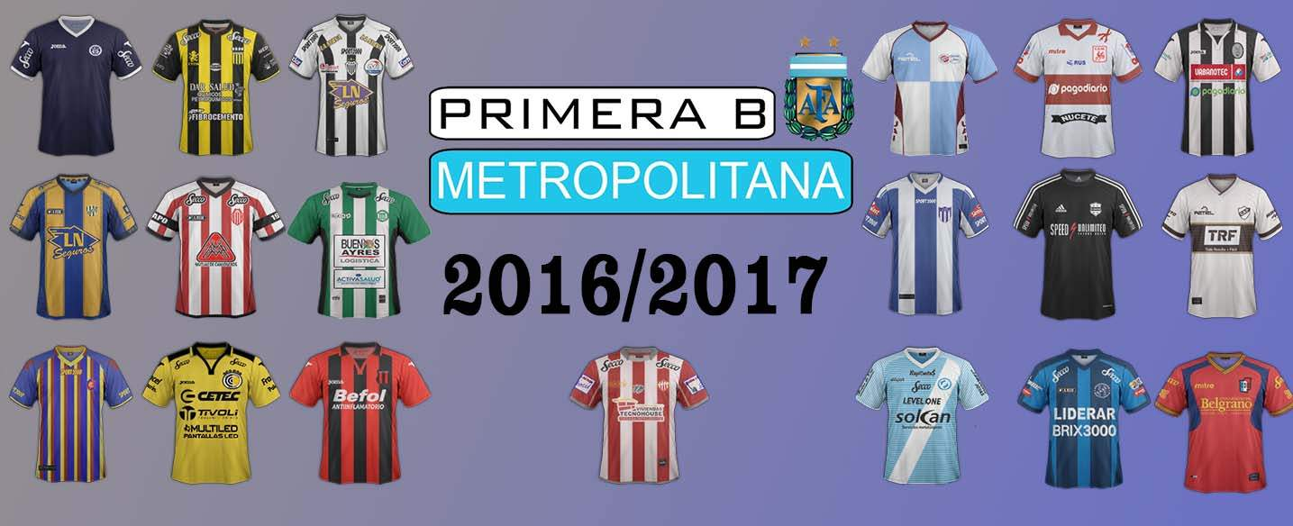 ARGENTINA PRIMERA B METRO 2016/2017
