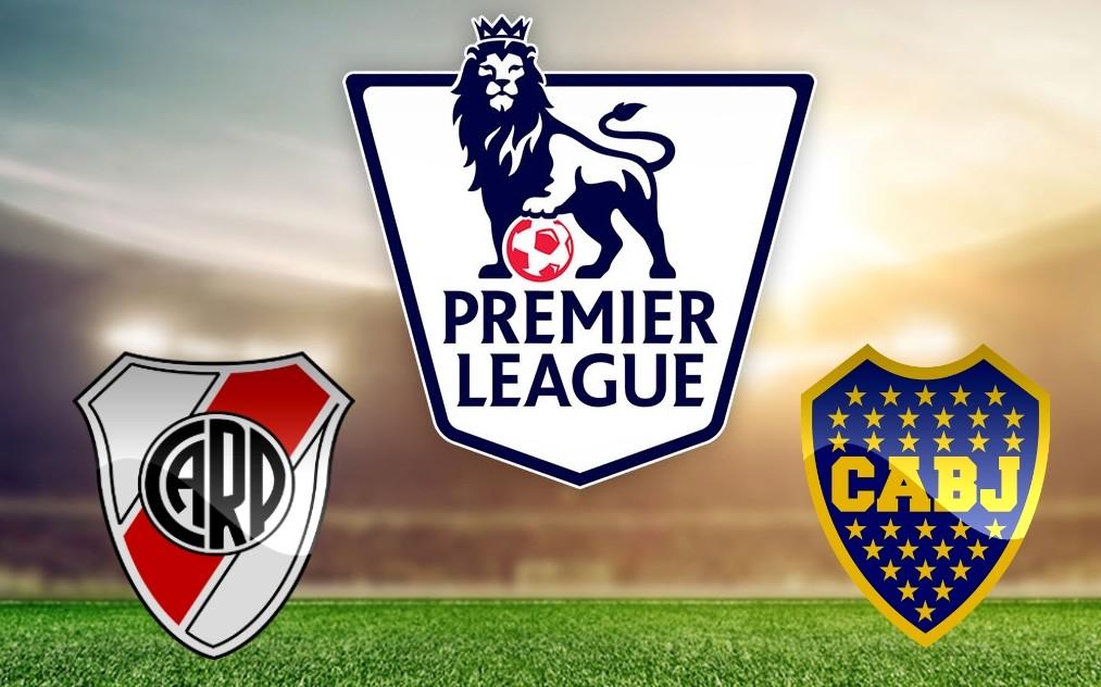 River y Boca en la Premier League.