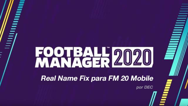 FM20 Mobile Real Names License Fixes