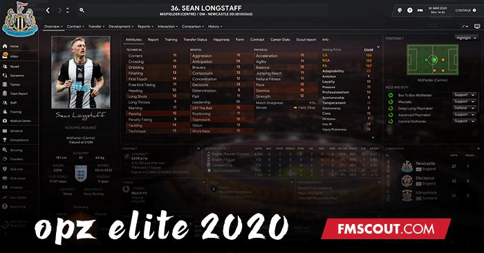 OPZ Elite 2020 Skin