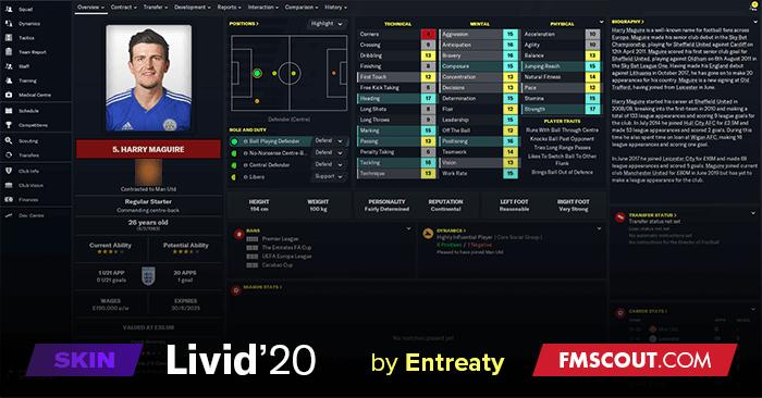 Livid'20 Skin FM20