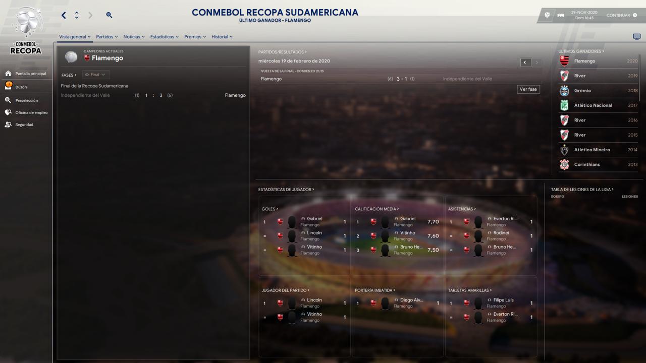 Copa Libertadores y Copa Sudamericana, con equipos Mexicanos y de Estados Unidos