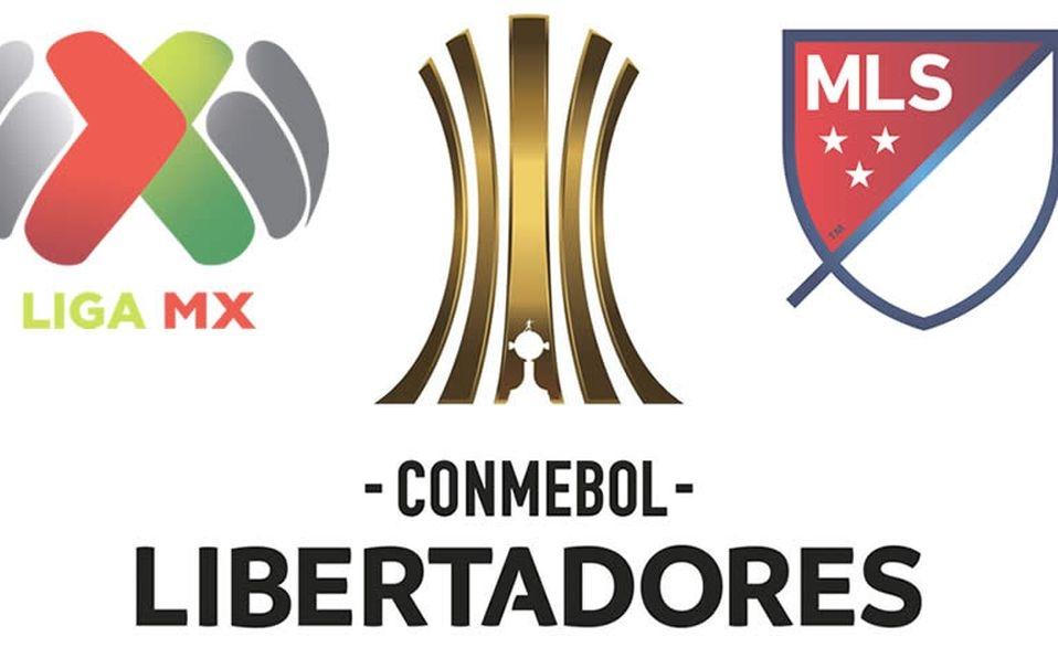 Copa Libertadores con Liga BBVA MX y Major League Soccer