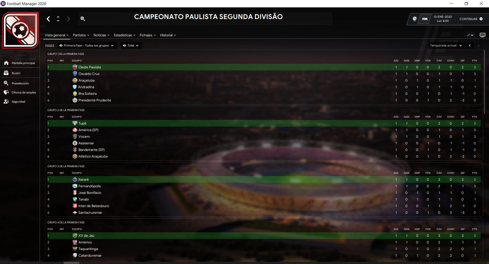 Brasil Segundas divisiones Estaduales, Serie D, E, F, G.