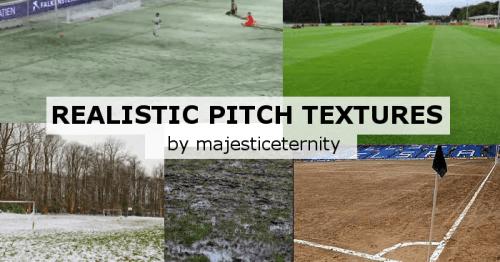 Realistic pitch textures on FM20