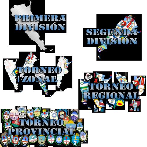 Logos para Estructura argentina regionalizada