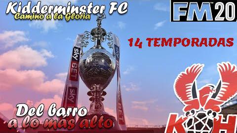 Partida EPICA! 14 temporadas en el Kidderminster, llegando a premier league por primera vez en su historia.