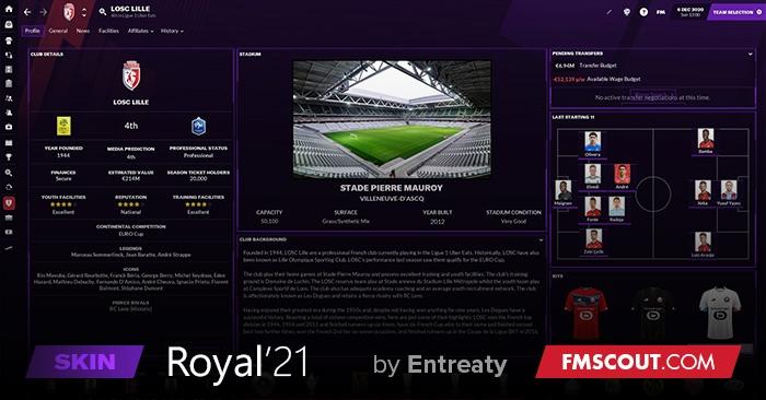 Royal'21 Skin FM21