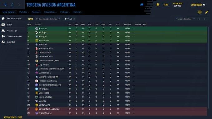 """Nuevo Sistema """"a lo ingles"""" en Argentina + Copas Territoriales (13 divisiones, 1011 clubes, 9 filiales y 5 a grupo unico)"""