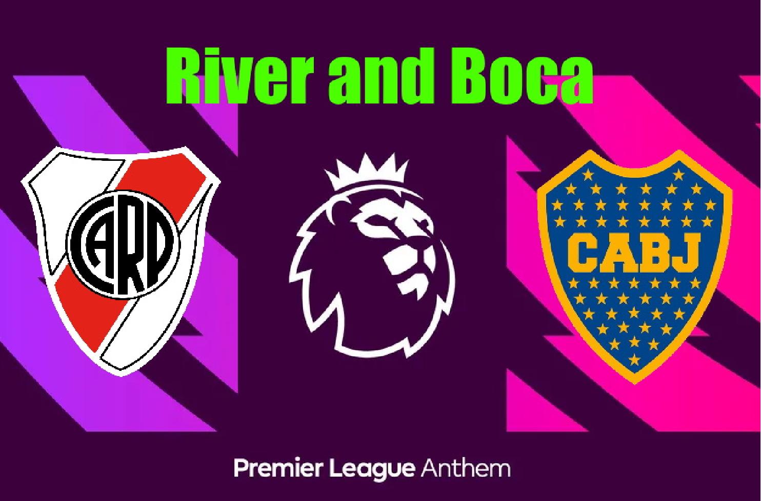 River y Boca en la Premier League