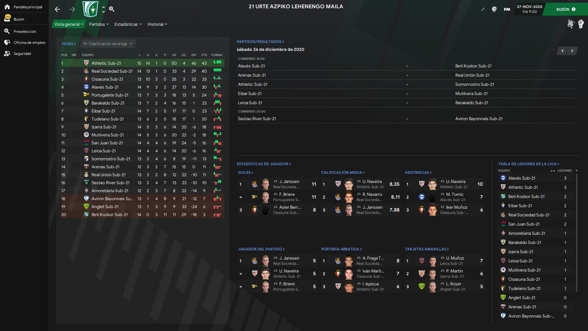 Euskal Liga (Sistema de Liga de Euskal Herria + Selección)