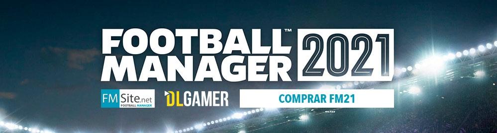 Pre comprar Football Manager 2021 por sólo 39.99€