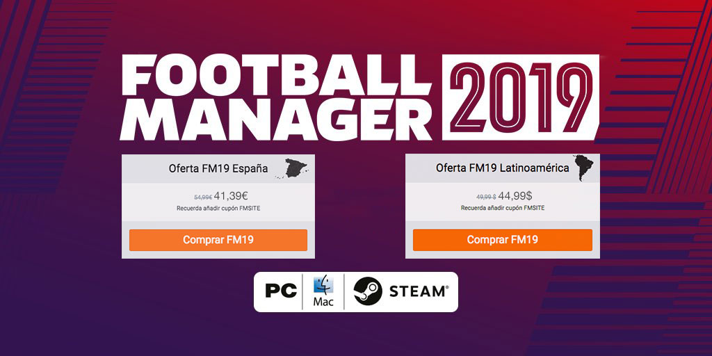 Oferta Football Manager 2019