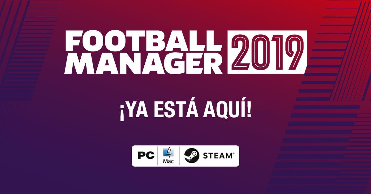 Football Manager 2019: ¡Ya a la venta!