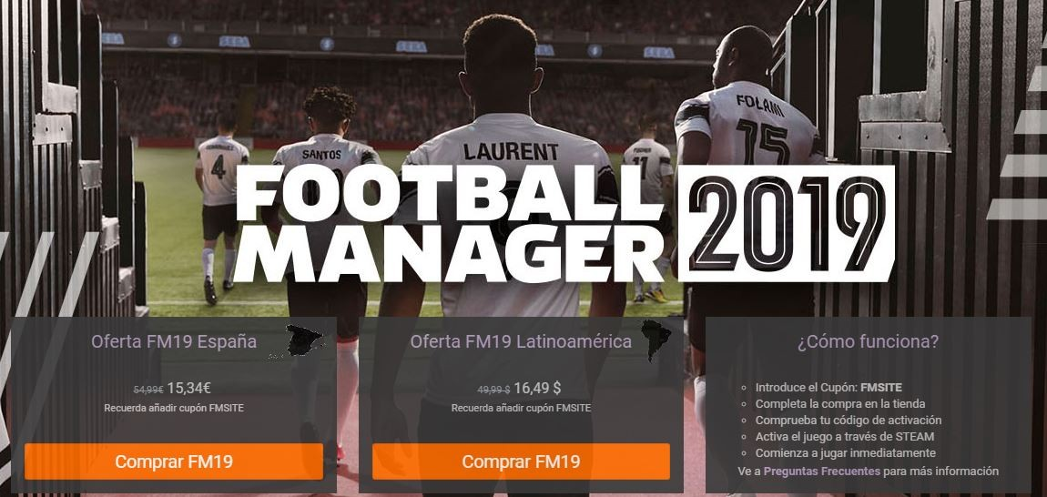 Oferta flash Football Manager 2019