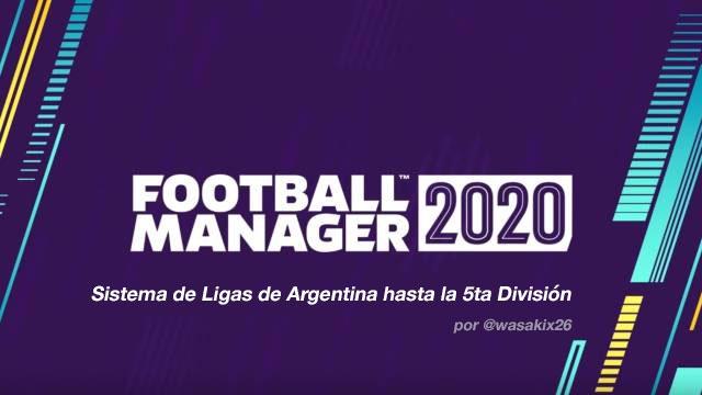 Sistema de Ligas Argentina - FM20