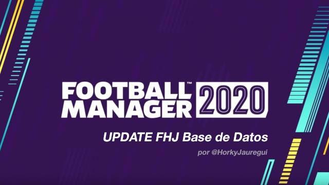 FHJ Base de Datos FM20 (Temporada 20/21)