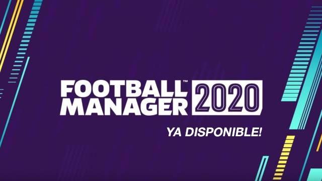 Football Manager 2020: YA a la venta