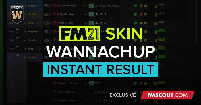 Instant Result FM21 Skin by Wannachup