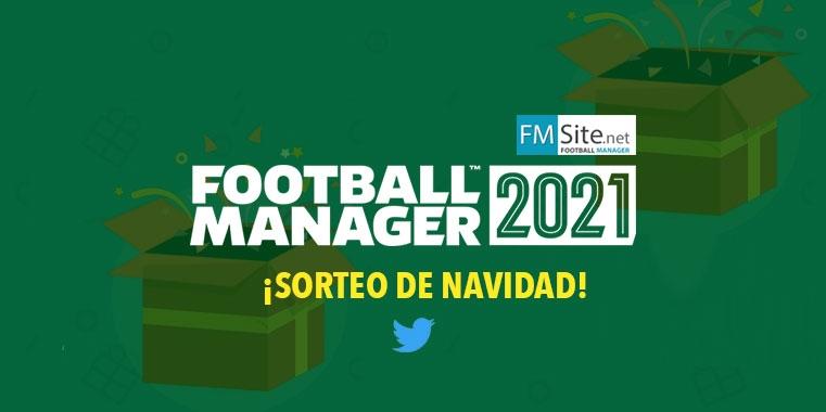 Sorteo copia de Football Manager 2021 por Navidad