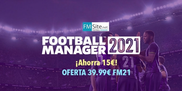 Oferta Football Manager 2021