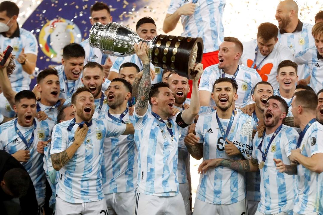 ¡Argentina campeona de América!