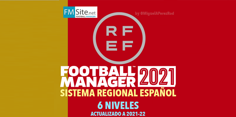 Sistema Competiciones Españolas actualizado 21/22