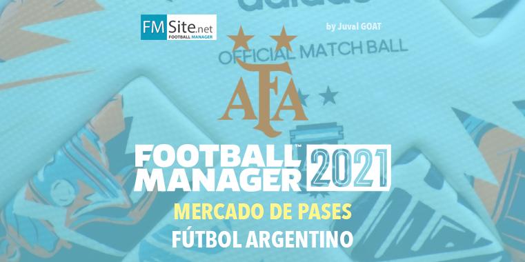 Mercado De Fichajes Futbol Argentino 2021