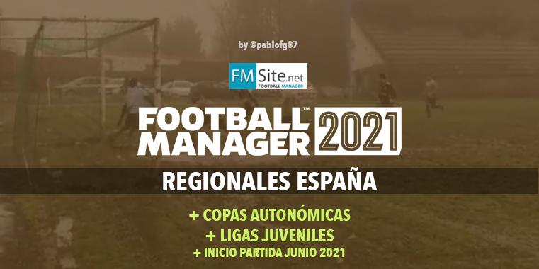 Sistema Regional Español + Copas Autonómicas + Ligas Juveniles