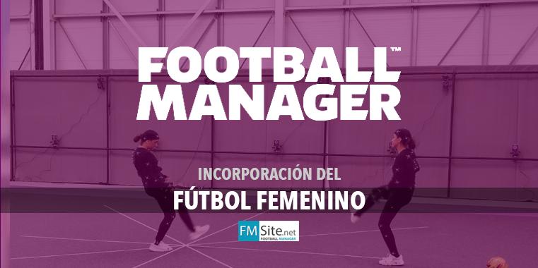 El fútbol femenino llega al Football Manager