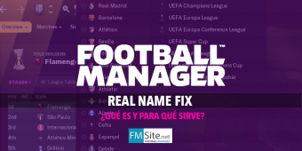 Corregir licencias Football Manager - Nombres Reales (Real Name Fix)