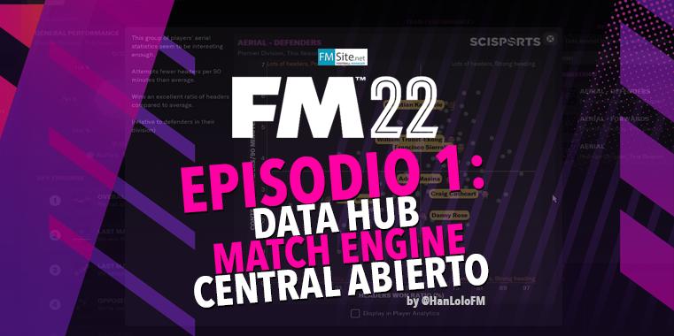 "Novedades FM22 - Análisis del vídeo ""In the Studio: New Headline Features. Episode 1"""